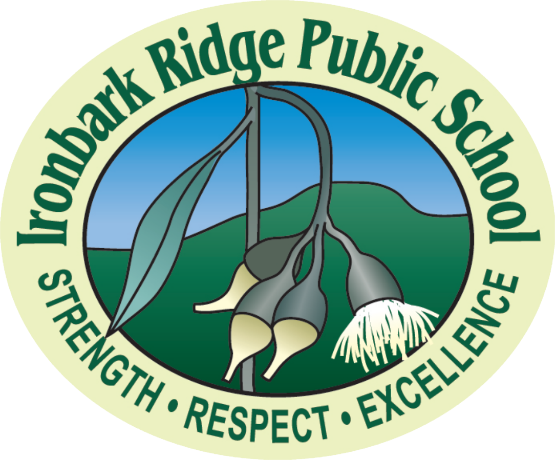 Ironbark Ridge Public School logo